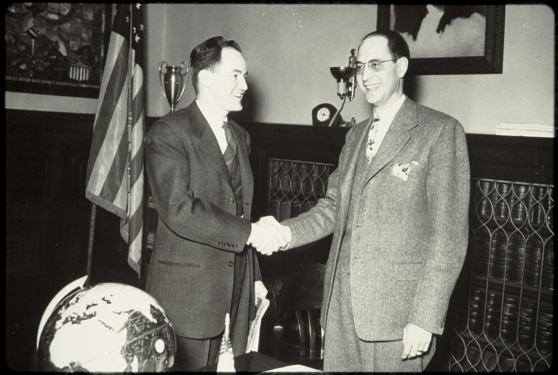 Hubert Humphrey Elected Mayor of Minneapolis placeholder image.