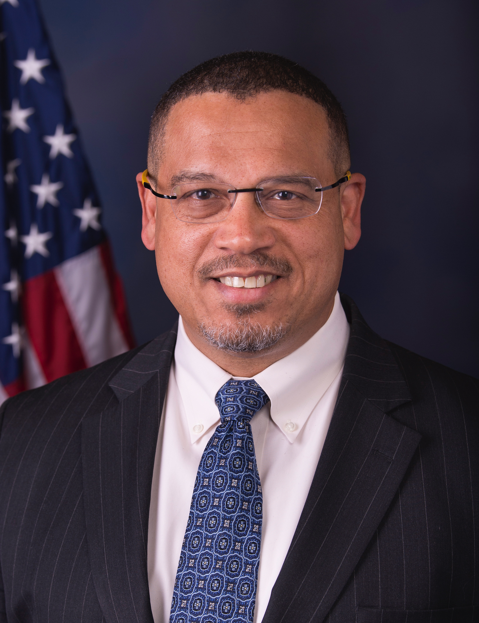U.S. Rep Keith Ellison is first Muslim elected to the U.S. Congress placeholder image.