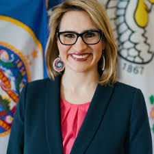 Peggy Flanagan first Native American woman elected Lt. Governor placeholder image.